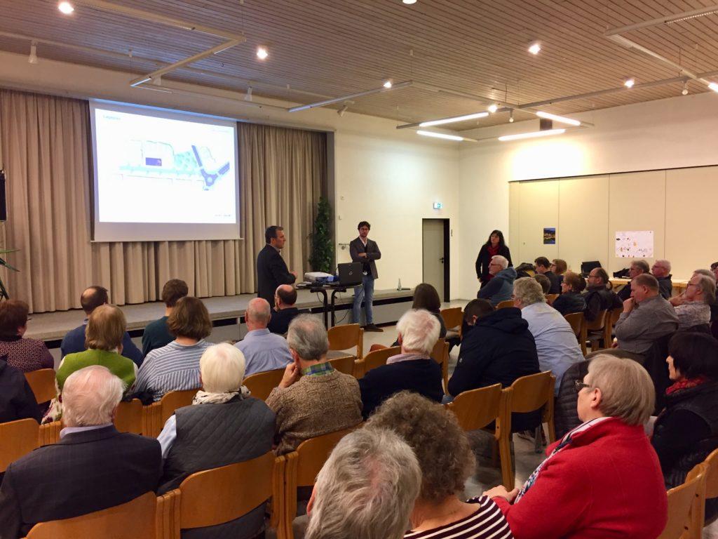 Aktuelle Pläne zur Umgestaltung der Ortsmitte auf Bürgerveranstaltung vorgestellt