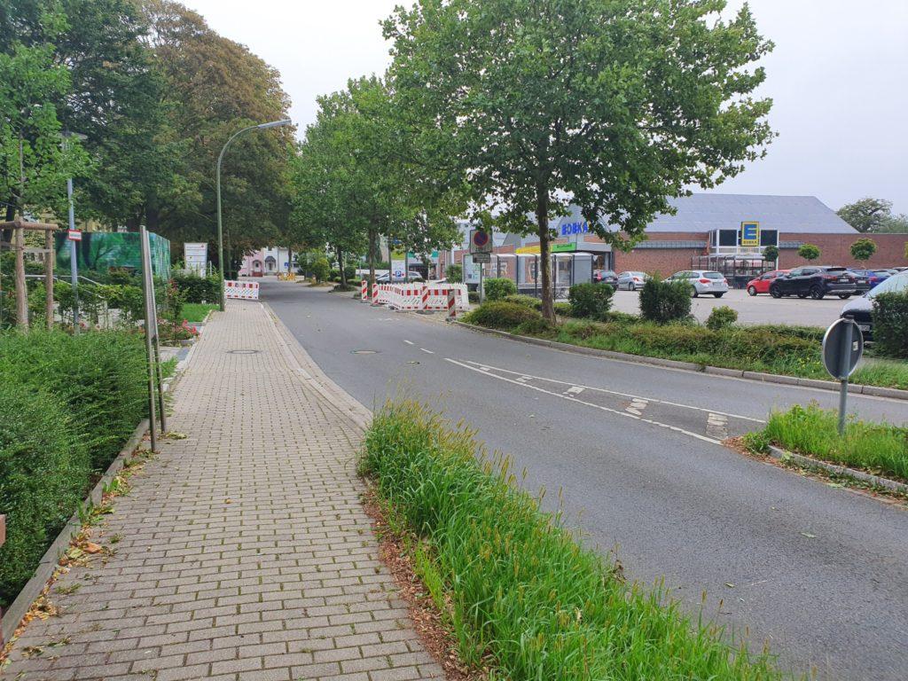 Neuer Zebrastreifen an der Westfälischen Straße