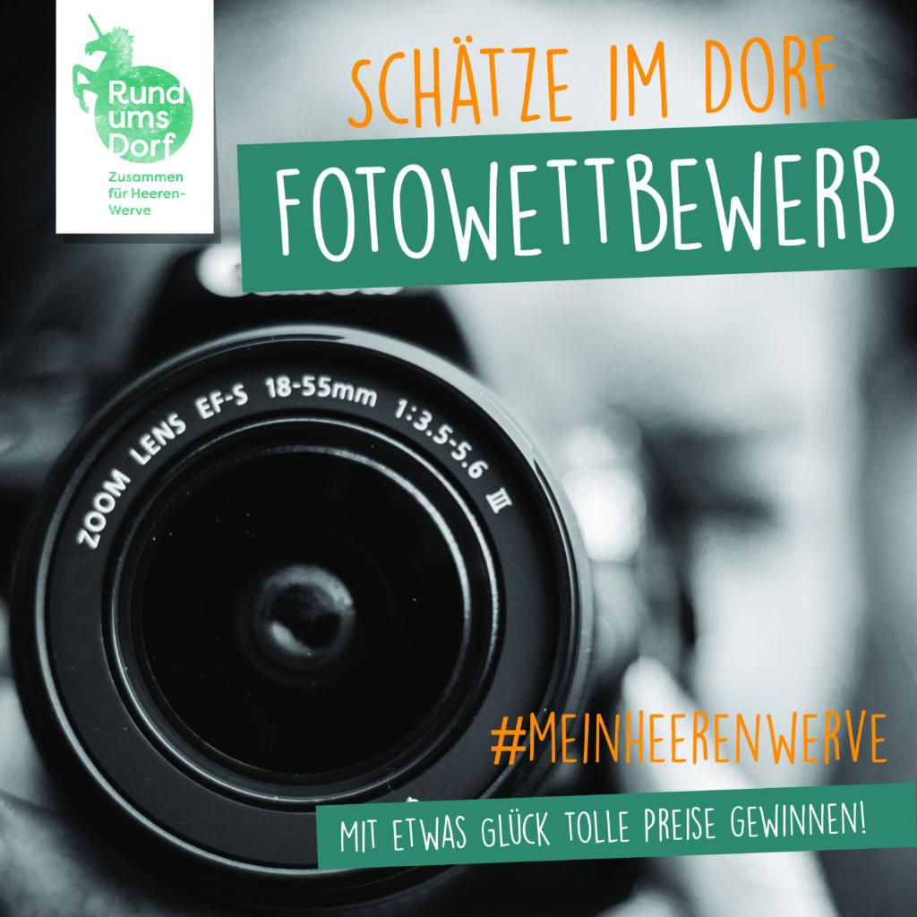 """Fotowettbewerb """"Schätze im Dorf"""""""