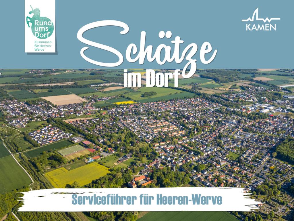 """Serviceführer """"Schätze im Dorf"""" jetzt bestellen!"""